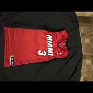 NBA Miami Heat Dwyane Wade Road jersey size M
